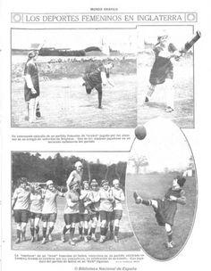 Página da revista espanhola Mundo Gráfico, 1919 - Acervo