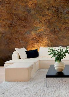 Interior design with decorated finishing walls in interiors #design #interior #interiordesign