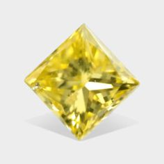 ctw, x mm, Canary Yellow, Clarity, Princess Cut Real Diamond Canary Yellow Diamonds, Princess Cut, Clarity
