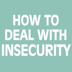 #love #life How to #deal with #insecurity #security #safety #art #text #writing #newyork #Manchester #london #Brussels #travel #shoutout #followme #me #we #hope #war #peace #activism #message #todo #nofilter #water #blue @White_box_open_space