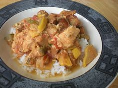 Spicy Sausage, Chicken, and Summer Squash Slop