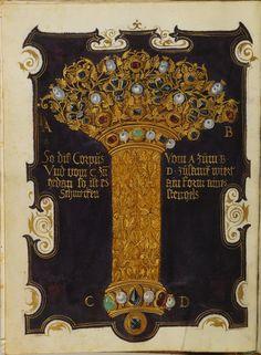 Livre des bijoux de la Duchesse Anne de Bavière — Afficheur — Bibliothèque numérique mondiale