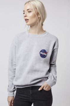 M - got discount code and you could get cashback ;) birthday? Photo 3 of Nasa Distressed Sweater by Tee & Cake