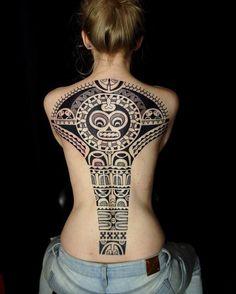 The Symbolic Identity of the Marquesan Tattoo