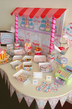 cupcake sprinkle party | ... Party Stationery Girls & Boys Parties Baby Shower Stationery Party