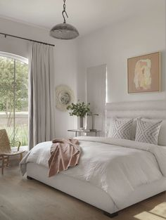 Neutral bedroom | Studio Seiders