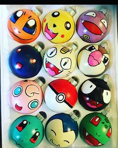 Unique Pokemon Christmas Tree Decor Ideas - Page 4 of 18 Pokemon Christmas Ornaments, Diy Christmas Ornaments, Homemade Christmas, Ornaments Ideas, Christmas Projects, Kids Christmas, Holiday Crafts, Christmas Balls, Harry Potter Christmas Decorations