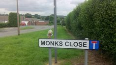 "Traveling the ""monks way"" in ilkeston"
