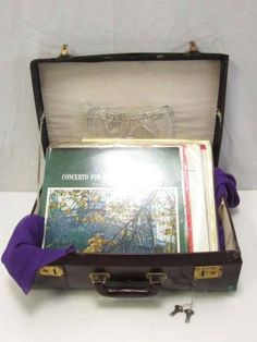 Trunk レトロ アンティークトランク 旅行かばん スーツケースカギ付 インテリア 雑貨 家具 Antique ¥2999yen 〆05月11日