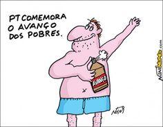 """Só agora !?...  """"O governo do PT propiciou, ao conjunto da população brasileira, acesso aos bens pessoais, quando deveria ter iniciado pelo acesso aos bens sociais. (...) Criou-se uma nação de consumistas, não de cidadãos."""""""