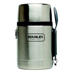 Stanley Adventure 18-Ounce Vacuum Food Jar, Grey