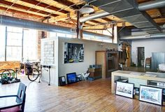6,000 square feet penthouse loft in Detroit