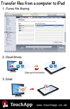 Useful iPad tips for teachers – how to transfer files from a computer to iPad