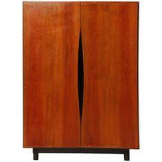 Small Wardrobe Cabinet by Vladimir Kagan