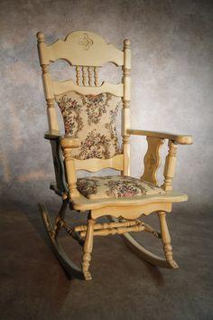 "Rocking chair, ""Villagoise"" line."