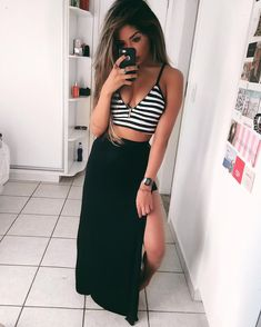 😼 Link na bio Cool Outfits, Summer Outfits, Summer Dresses, Girl Fashion, Fashion Outfits, Womens Fashion, Look Chic, Summer Looks, Casual Looks