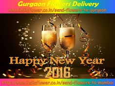 Happy New Year To All My Friends Send #Flowers And #Gifts To Your True #Lover And #Family By http://www.indiaflower.co.in/send-flowers-to-gurgaon