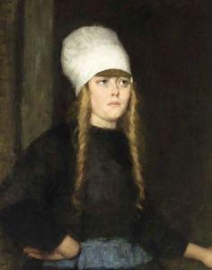 The Athenaeum - Portrait of Aaltje Kaars (Therese Schwartze - )