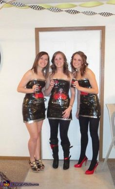 Bud Select Girls - Halloween Costume Contest via @costumeworks
