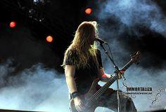 #Insomnium Niilo Sevänen (Party San Open Air 2012) Open Air, Death Metal, Metal Bands, Finland, Party, Folk, San, Amazing, Music