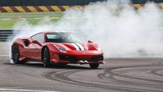 2019 Ferrari 488 Pista first drive: Time to go shoe shopping Ferrari Mondial, Ferrari 488, Dual Clutch Transmission, First Drive, Porsche Carrera, Electric Cars, Shoe Shop, Supercars, Luxury Cars
