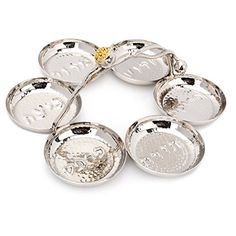 Seder Plate for Passover! Topaz® Collection Hammered Stai... https://www.amazon.com/dp/B01BXBSH9K/ref=cm_sw_r_pi_dp_x_0Lt5ybMZ45M4N