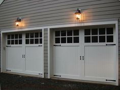 Fads carriage style garage doors on pinterest carriage house garage doors and curb appeal - Installing carriage style garage doors improve exterior ...