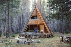 How to Build an A-Frame Tiny House Cabin