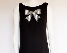 Moschino Cheap & Chic vintage black dress with bow size medium/large - Edit…