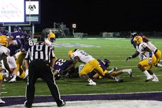 Corey Middleton makes a stop inside the 10 yard line.