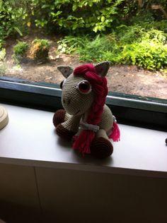 Mijn 4e zumigurumi , Leila de pony
