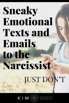 Dealing with a narcissist? Thinking about writing an emotional text or email to the narcissistic individual...letting them know exactly how you feel? Put the phone down! Codependency Recovery, Narcissistic Abuse Recovery, Dealing With A Narcissist, Sociopath, Self Awareness, Personality Disorder, Anti Social, Disorders, Behavior