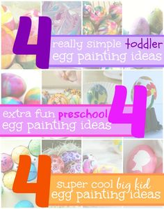 12 egg painting ideas for kids of all ages