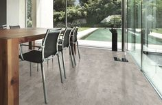 Identity Silver, Collections, Corkcomfort, Collection - Wicanders - world reference in cork flooring and wall covering Cork Flooring, Grey Flooring, Flooring Ideas, Floors, Living Room Inspiration, Interior Inspiration, Dal Tile, Cork Wood, Floating Floor