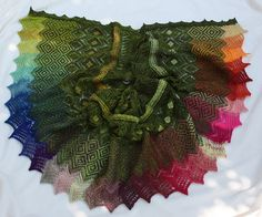 Ravelry: Project Gallery for Sari pattern by Kieran Foley