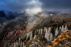Incredible experience this morning on Mt Vranica. It's so good to be witness of the games of light colors atmosphere seasons. Single exposure minimal PP.