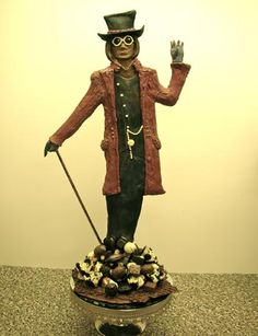 sculptures made of chocolate | Luxury chocolate including Heavenly Chocolate hand made in store and ...