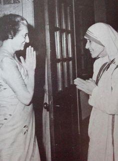 Indira Gandhi & Mother Theresa