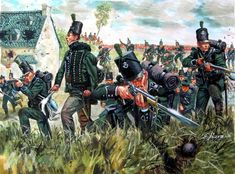 Rifles at La Haye Sainte, Waterloo 1815