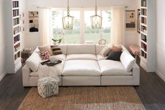 Exactly What to Look for When Buying a Sectional Home Living Room, Living Room Decor, Living Spaces, Home Renovation, Home Interior, Interior Design, Interior Ideas, Hygge, Value City Furniture