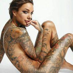 Nude gypsy tattoo — photo 4