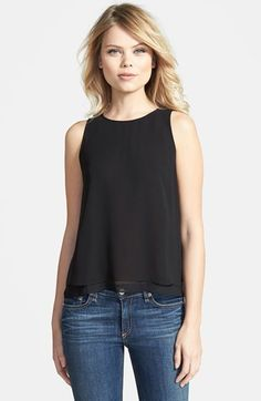 Free shipping and returns on Chelsea28 Double Layer Trapeze Top at  Nordstrom.com. A 708c9dc25a