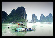 Halong Bay - Vietnam. Breathtaking.