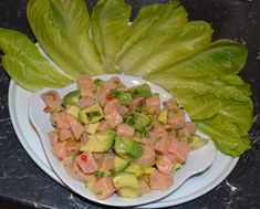 Salmon and Avocado Ceviche Ceviche, No Cook Meals, Lunch Ideas, Tuna, Salmon, Avocado, Fish, Cooking, Blog