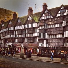 Staple Inn, Holborn. This is what London was like before the Great Fire in 1666!