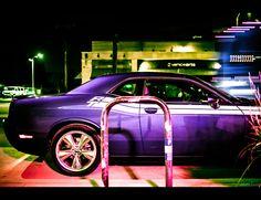 Hemi Dodge Challenger R/T Plum Crazy, bad to the bone