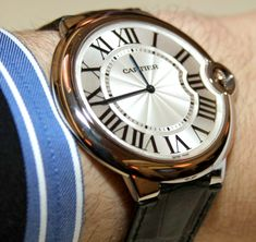 Cartier Ballon Bleu Extra Flat Watch Hands On   hands on