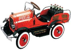 Coke Pedal Car Hope you'll check out our other Coca Cola boards. Cans, Bottles, Ads, Vehicles and Everything Else acontornosr