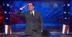 """Ian Crouch on """"The Colbert Report"""" 's end: """"This week, Colbert's message to fans has been that it is O.K. to be sad, but not too sad—after all, it's only the television business."""""""