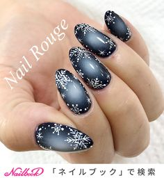 - Best ideas for decoration and makeup - Xmas Nail Designs, New Years Nail Designs, Nail Art Designs Videos, Pretty Nail Designs, Winter Nail Designs, Red Christmas Nails, Xmas Nails, New Year's Nails, Holiday Nails
